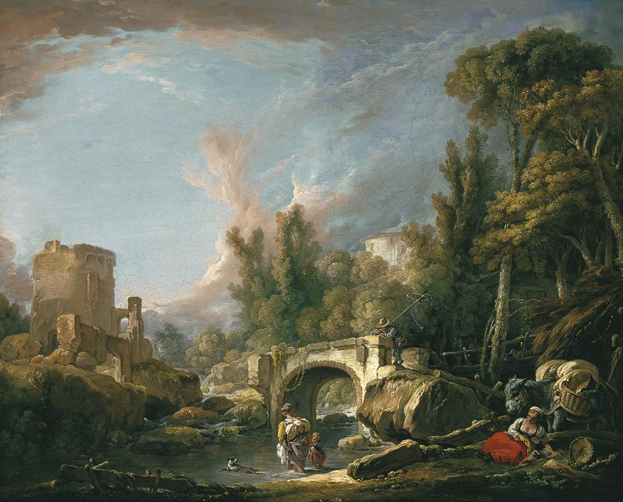 Museo carmen thyssen m laga for Boucher peintre