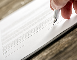 Smaller contracts and agreements