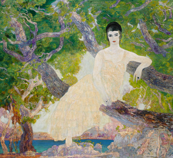 Anglada-Camarasa. Arabesque and seduction