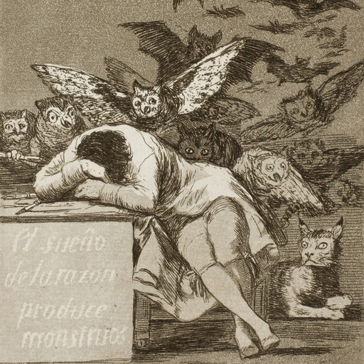 Goya-Ensor. Winged Dreams