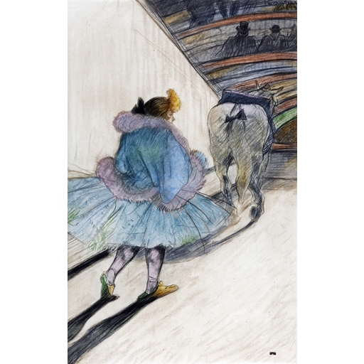 Toulouse-Lautrec and the circus