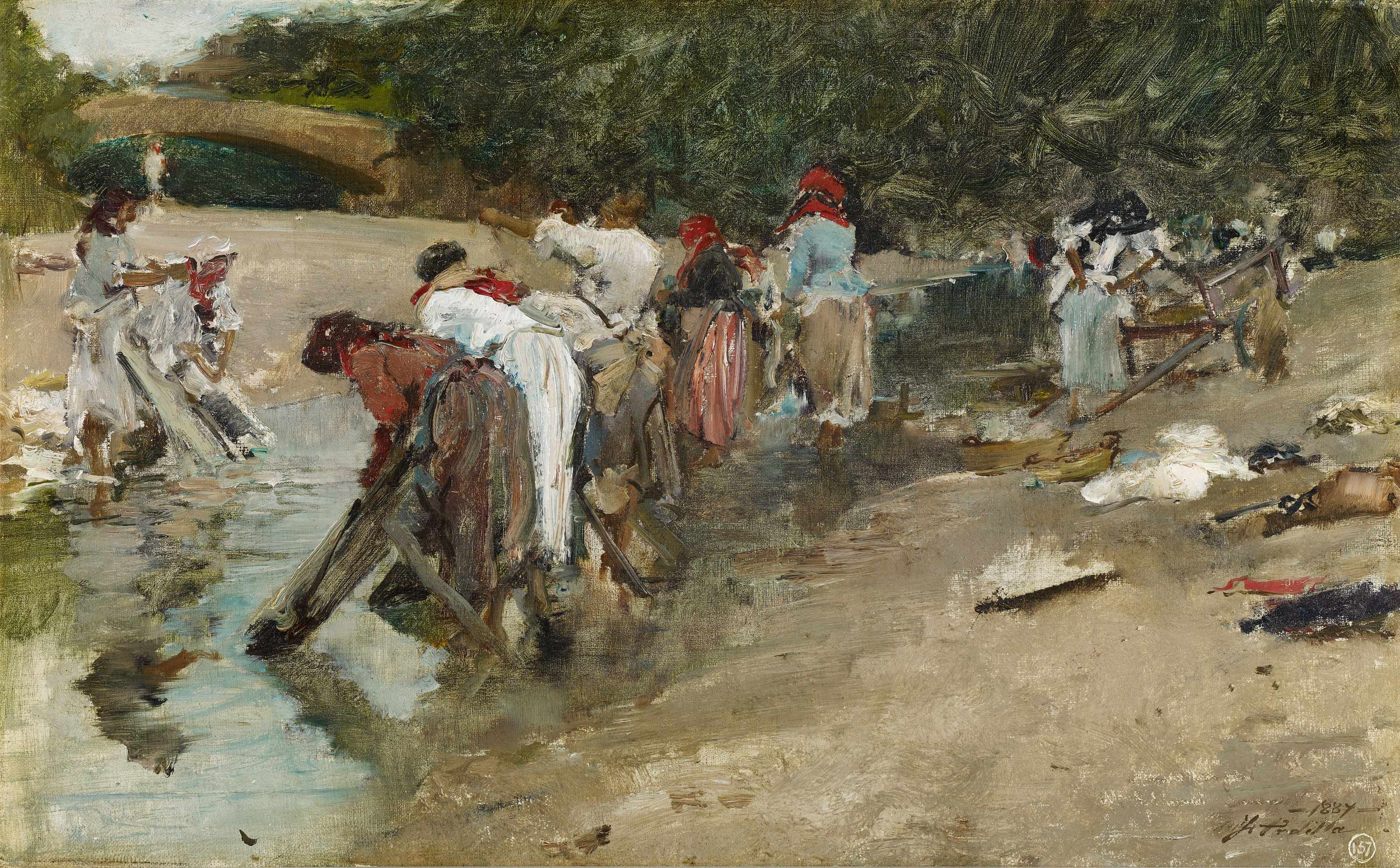 Galician Washerwomen