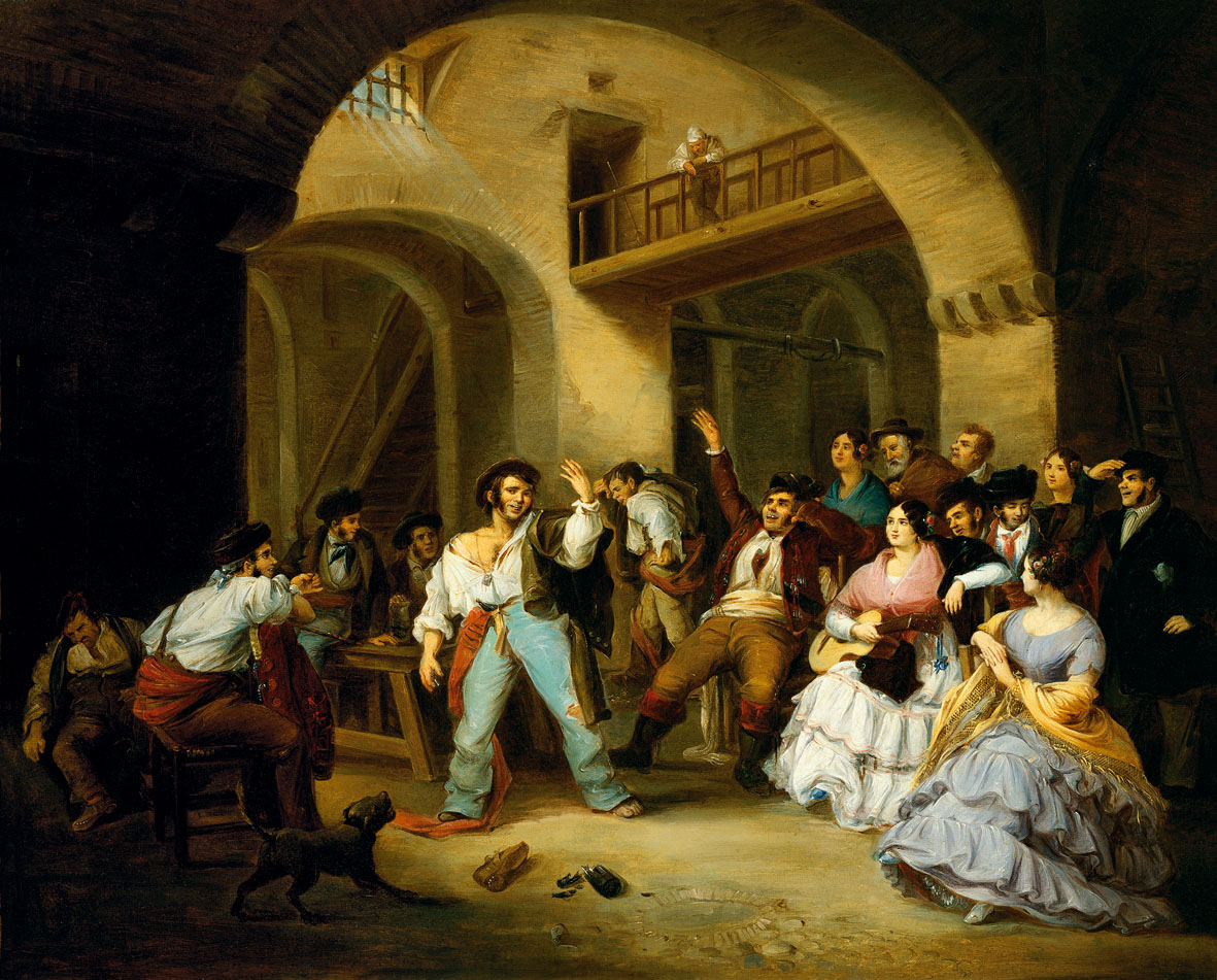 A Drunkard at an Inn