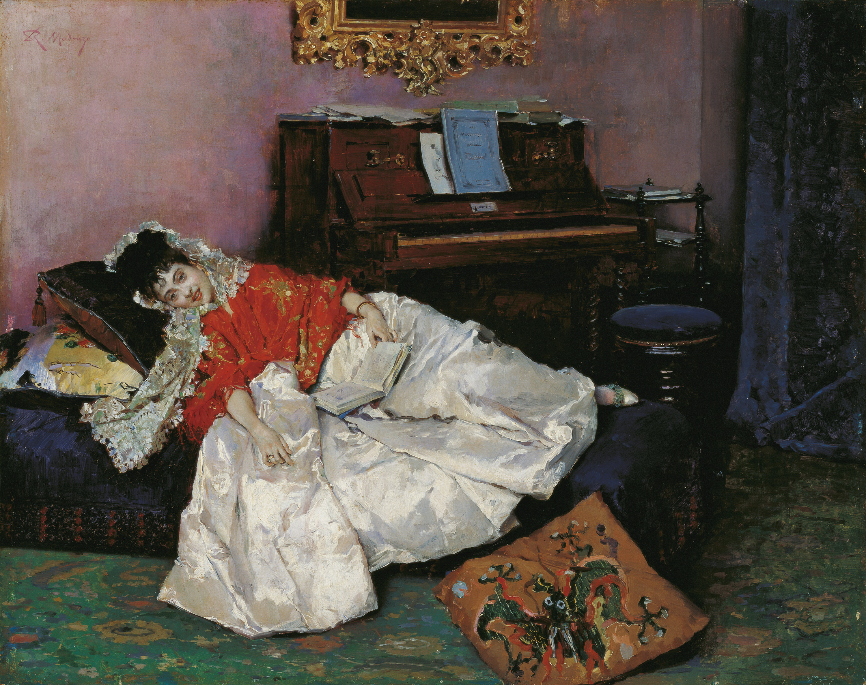 The Reading (Aline Masson)