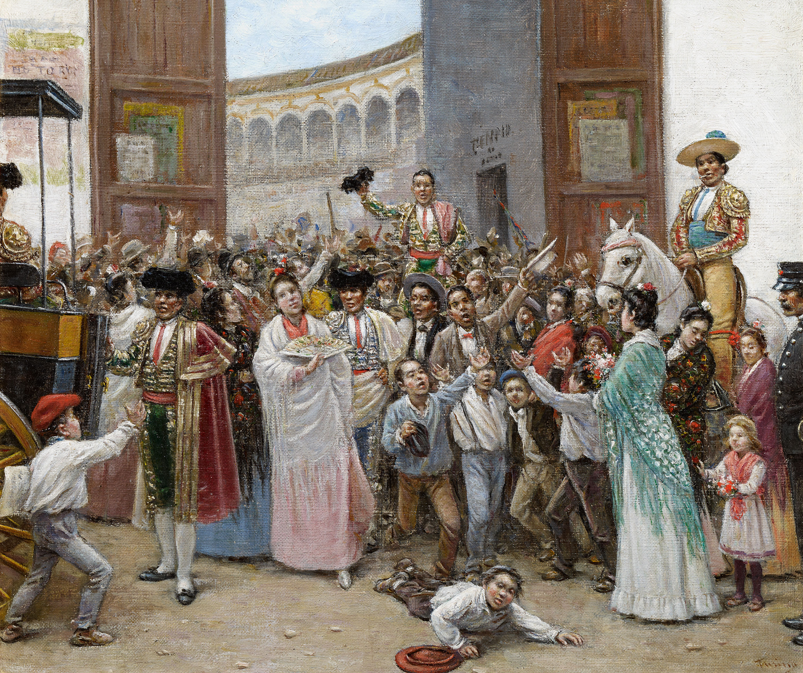 Triumphal Exit from the Maestranza Bullring in Seville