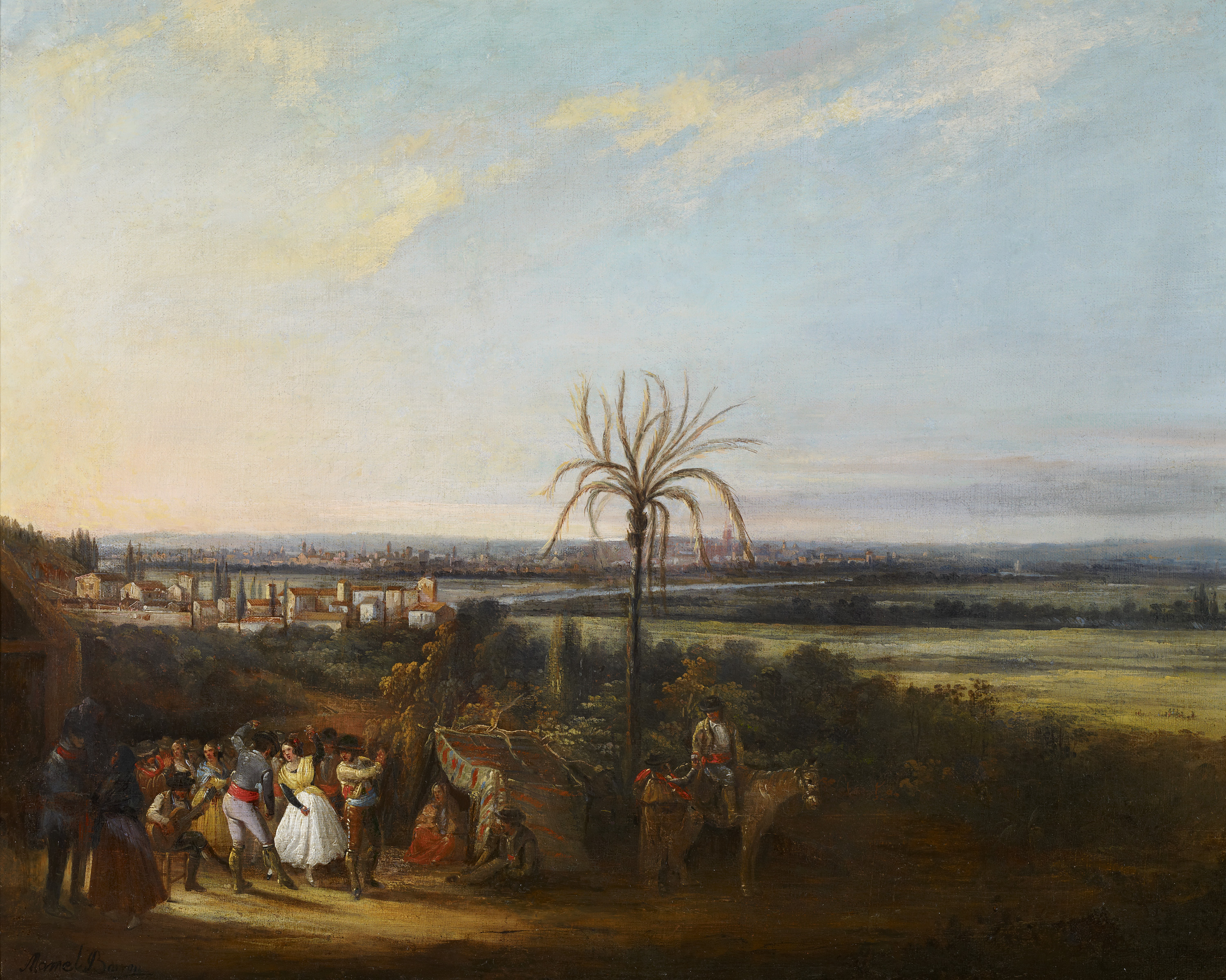 Merrymaking near Seville
