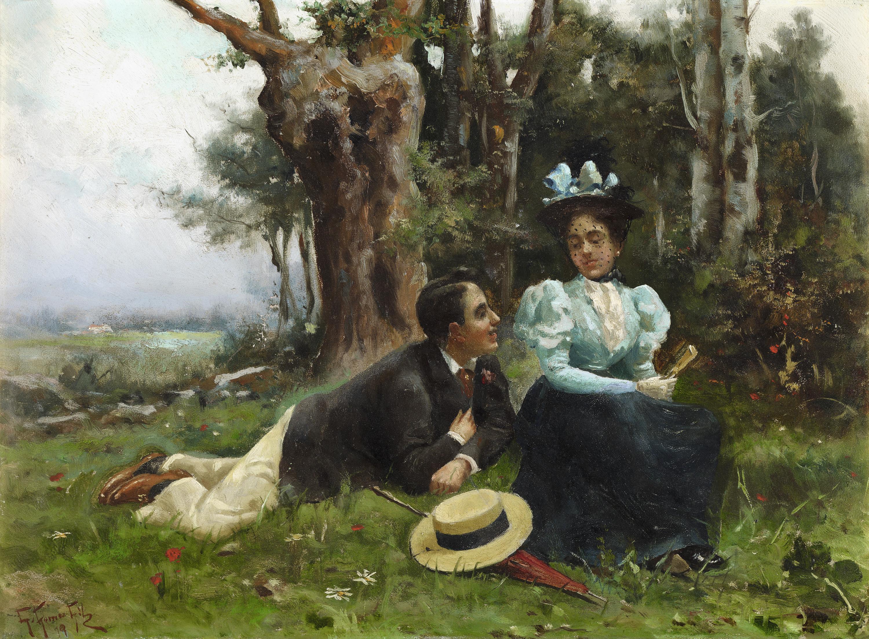 Courting in the Country