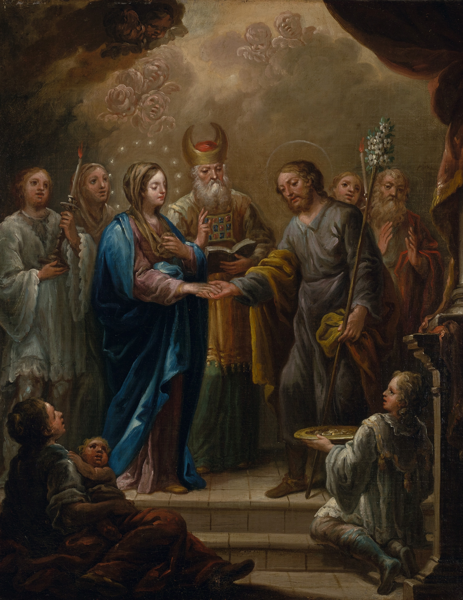 The Betrothal of the Virgin and Saint Joseph