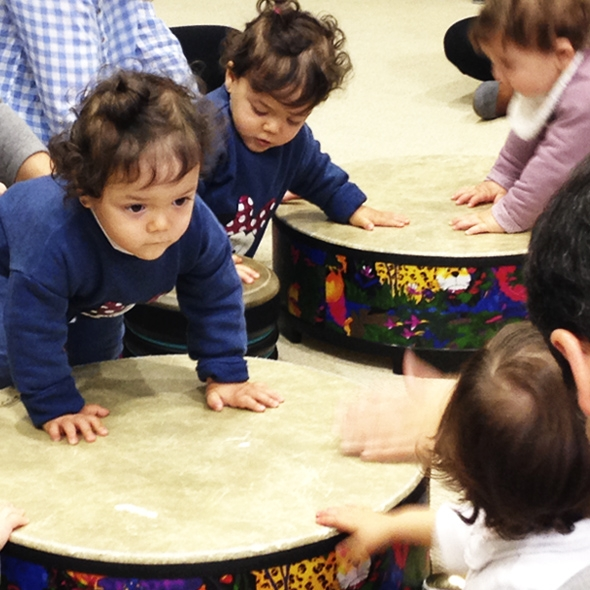Introducing music for babies. Sounds from Japan