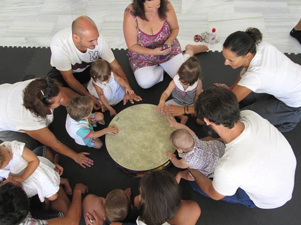 Introductory music workshop for toddlers